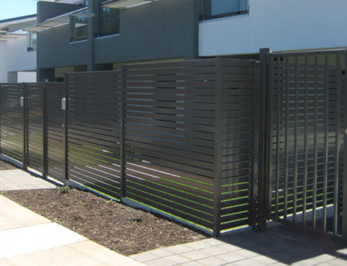 OAKS Apartments CLOVELLY PARKS SA | LV65  ALUMINIUM SLAT FENCE | SCREENS